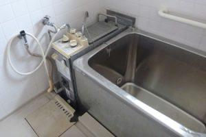 公営住宅風呂釜交換