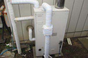 灯油ボイラーからガス給湯器へ