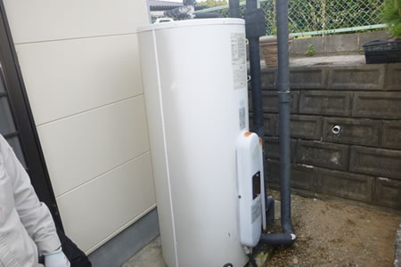 電気温水器からガス給湯器へ