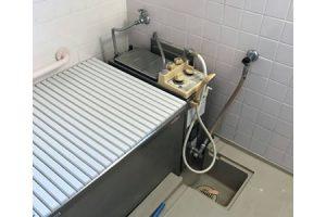 県営住宅風呂釜交換
