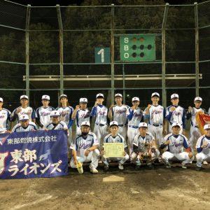 水戸市軟式ナイター野球大会